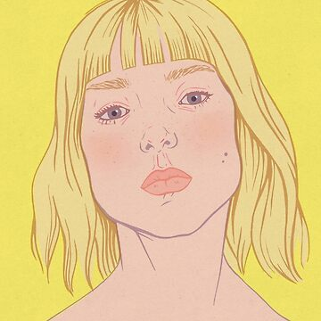 Lea- fashion illustration portrait by marichoo
