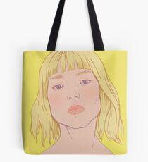 Lea- fashion illustration portrait Tote Bag