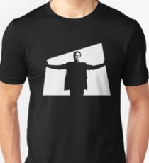 I will not be pushed, filed, stamped, indexed, briefed, debriefed, or numbered Unisex T-Shirt