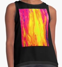 Vibrant Colorful Abstract Contrast Tank