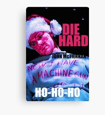 DIE HARD 7 Canvas Print