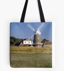Cley Windmill and reedbeds Tote Bag