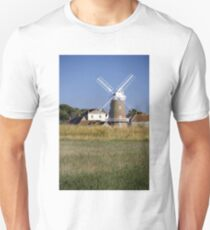 Cley Windmill and reedbeds Unisex T-Shirt