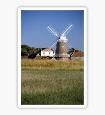 Cley Windmill and reedbeds Sticker