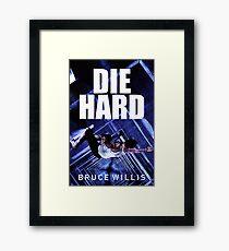 DIE HARD 8 Framed Print