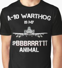 A-10 WARTHOG - Spirit Animal Graphic T-Shirt