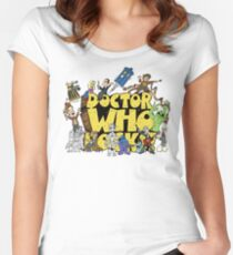 Doctor Who Rocks Women's Fitted Scoop T-Shirt