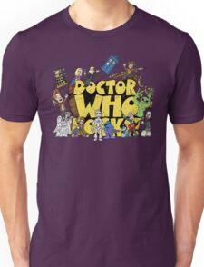Doctor Who Rocks Unisex T-Shirt