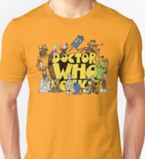 Doctor Who Rocks Unisex T-Shirt