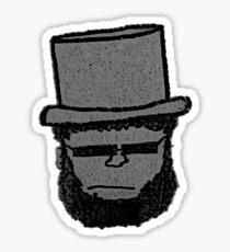 Abraham Lincoln Vampire Slayer Sticker