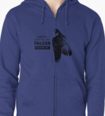 You've Gotta Be Falcon Kidding Me Zipped Hoodie