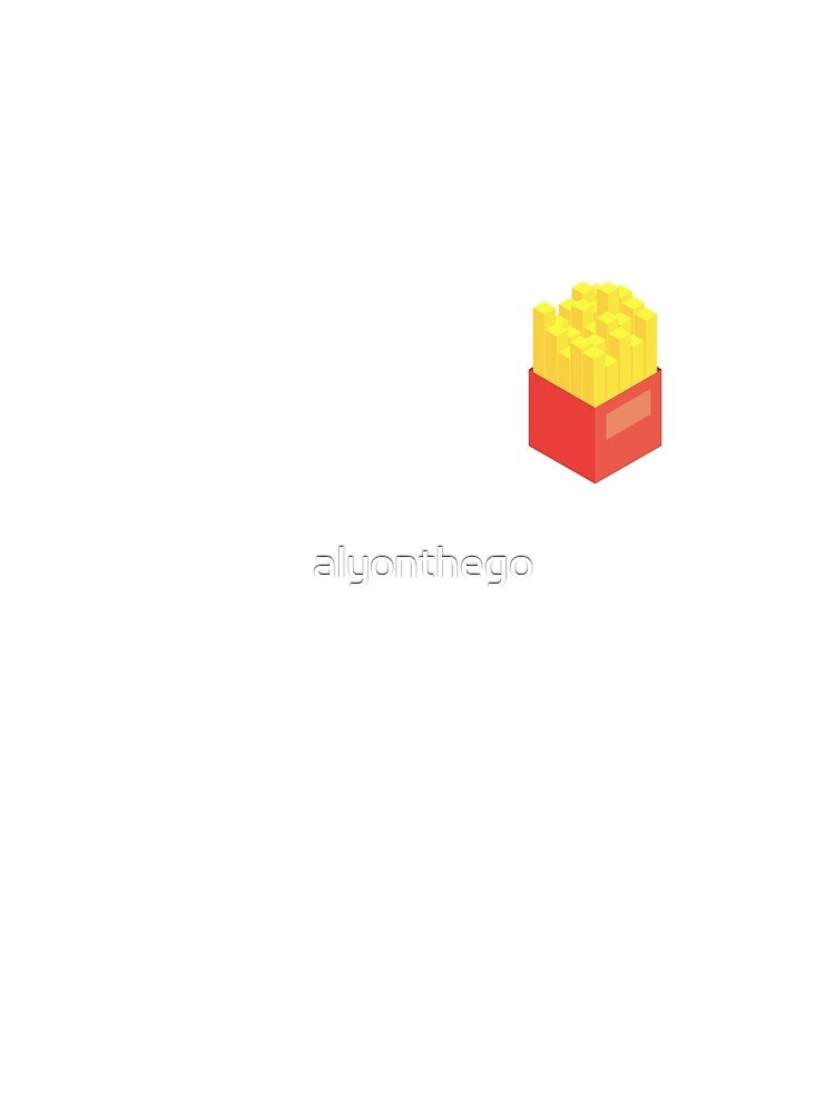 Isometric Fries by alyonthego