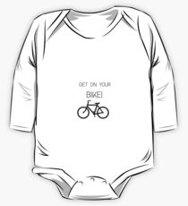 Get on your bike! One Piece - Long Sleeve