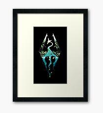 SKYRIM! Framed Print