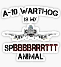 A-10 WARTHOG - Spirit Animal-b Sticker