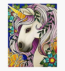 Magical Unicorn Photographic Print