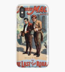 Performing Arts Posters The singing comedian Andrew Mack in the The last of the Rohans by Ramsay Morris 1112 iPhone Case/Skin