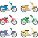 Bunte Fahrräder von Emir Simsek