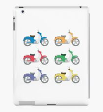 Colorful Bikes iPad Case/Skin