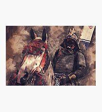 18th Century Samurai #2 Photographic Print