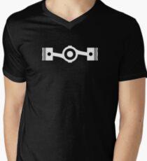Boxer Engine Design Men's V-Neck T-Shirt