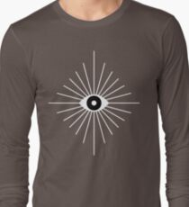 Electric Eyes - Black and White T-Shirt