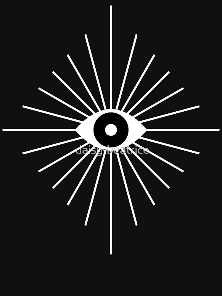 Elektrische Augen - Schwarzweiss von daisy-beatrice