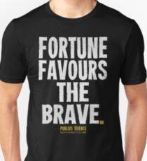 Fortune Favours The Brave T-shirts & Homewares Unisex T-Shirt