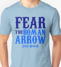 "Zach Boman ""Boman Arrow"" Unisex T-Shirt"