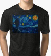 Venture Bros. Starry Night Tri-blend T-Shirt