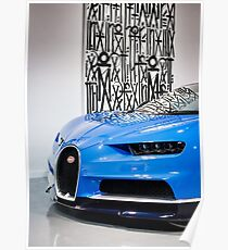 Wall Art and Dynamic Art Featuring a Hypercar Poster