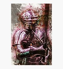 The Mystical Knight Photographic Print