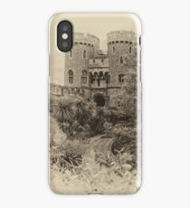 Windsor Castle - Sepia iPhone Case/Skin