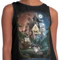 Mysterious Things Contrast Tank