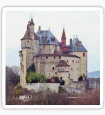 Menthon Saint Bernard castle Sticker