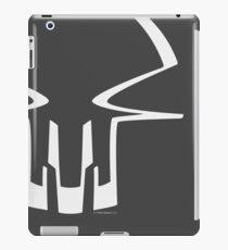 Race Skull - white iPad Case/Skin