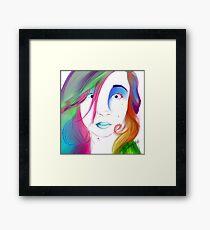 Zoe Colegrove - Self Portrait Framed Print