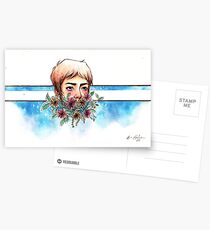 The Blue Paladin Postcards