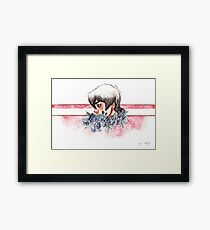The Red Paladin Framed Print