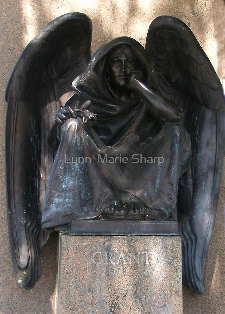 Grant's Angel of Death ~ San Diego, California by Marie Sharp
