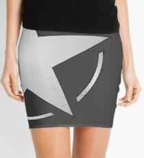 Race Star - white Mini Skirt