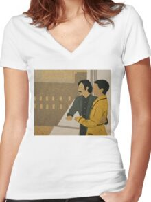 Hotel Chevalier Women's Fitted V-Neck T-Shirt