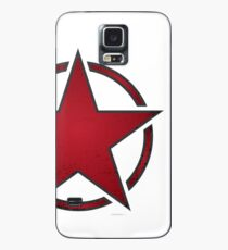 Race Star - red Case/Skin for Samsung Galaxy