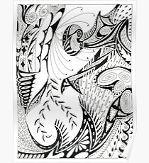 Pen & Ink Poster