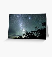 Milky Way from a very dark place Greeting Card