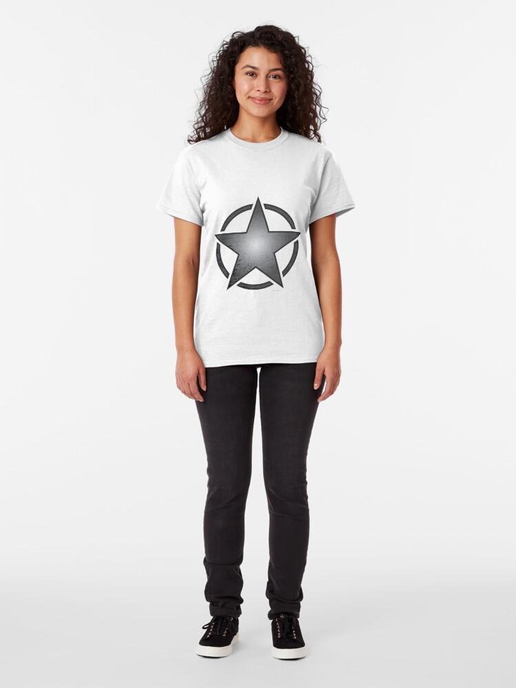 Alternate view of Race Star - black Classic T-Shirt