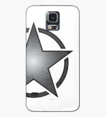 Race Star - black Case/Skin for Samsung Galaxy