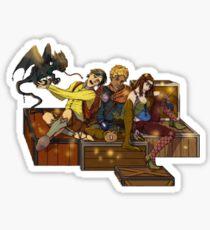 Adventurers Sticker