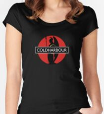 Coldharbour Logo Women's Fitted Scoop T-Shirt