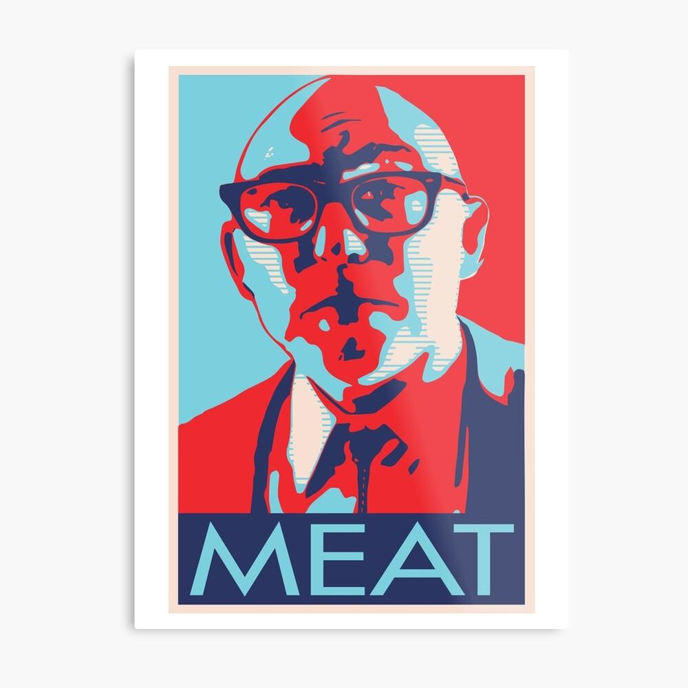 Der Gott des Fleisches Metallbild